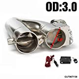 3 inch dual exhaust system - EPMAN Patented Product JDM 3
