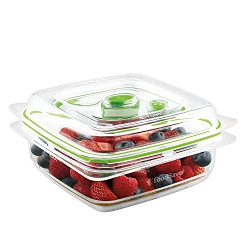 FoodSaver Vacuum Sealed Fresh Container, 3 Cup, Clear (Gasket Rinse Pre)