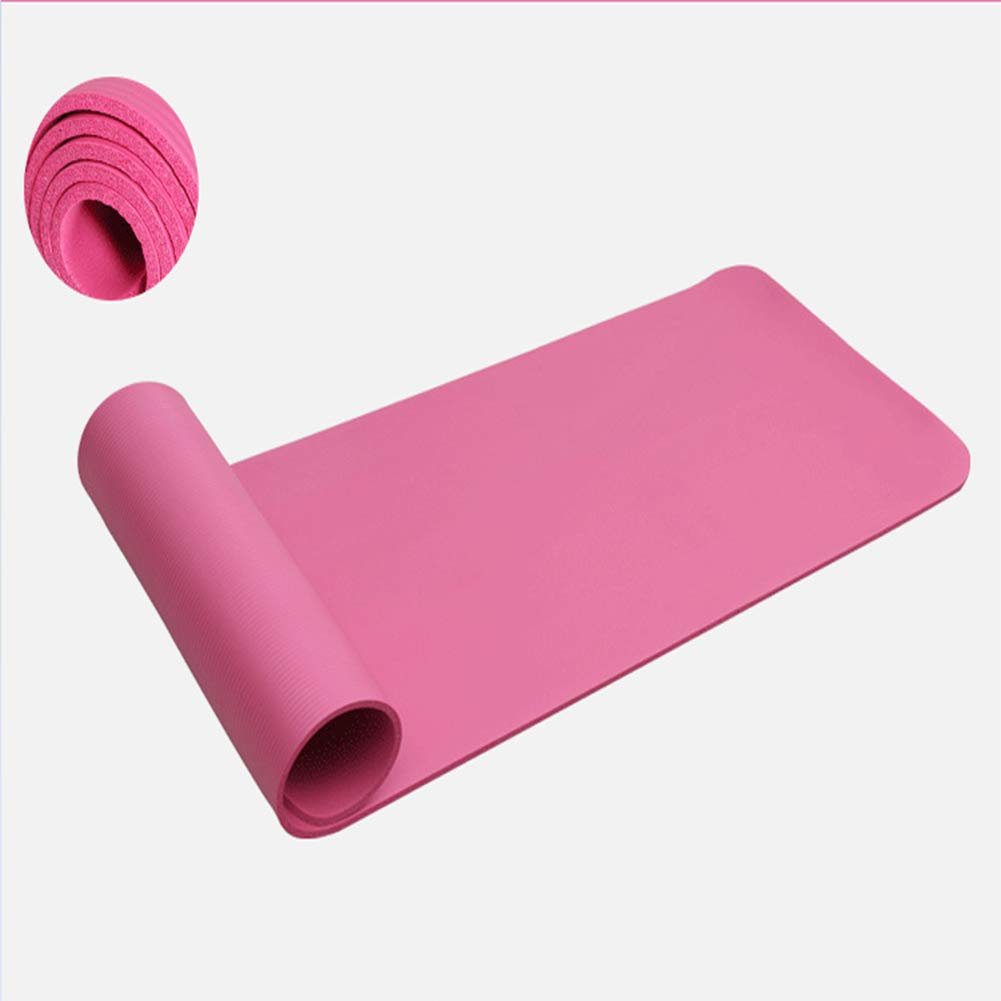 Qys 20 Mm 0.8 Pulgadas Espesamiento Largo Estera De Yoga ...