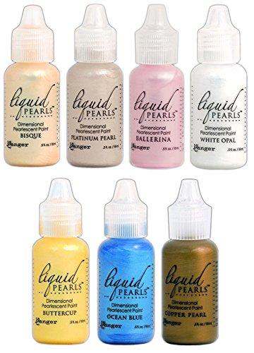 Ranger - Liquid Pearls Favorites - Bisque, Buttercup, Platinum, Opal, Copper, Ballerina & Ocean (Pearl Bisque)