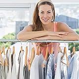 Heavy Duty Clothes Rack Sturdy Rod Garment Rack