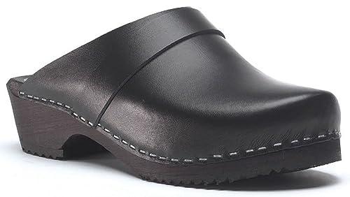 Toffeln - Zapatillas para hombre, color negro, talla 8 UK