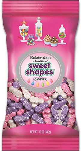 Sweetworks Celebrations Shapes Shimmer Pacifiers