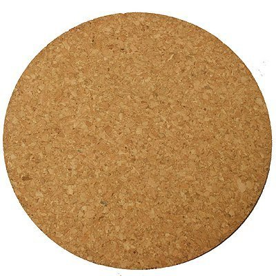 Plastec Cork Mat 6 Natural Cork Black by Woodstream by Woodstream