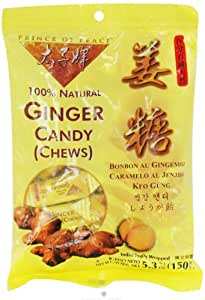 Prince Of Peace Ginger Candy - 5.3 Oz, 2 pack