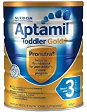 Aptamil Gold+ 3 Toddler Nutritional Supplement Milk Formula From 1 Year Babies 900g
