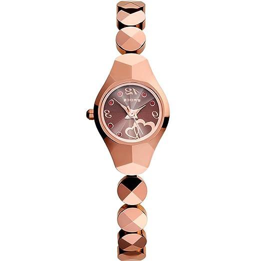Reloj de mujer reloj de tungsteno de moda para mujer 2018 Reloj de pulsera nuevo Reloj de mujer impermeable para estudiante: Amazon.es: Relojes