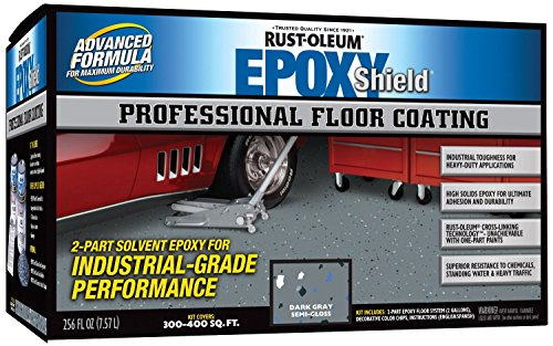 Rust-Oleum 238467 Professional Floor Coating Kit, Dark Gray by Rust-Oleum