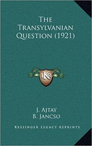 Book The Transylvanian Question (1921)