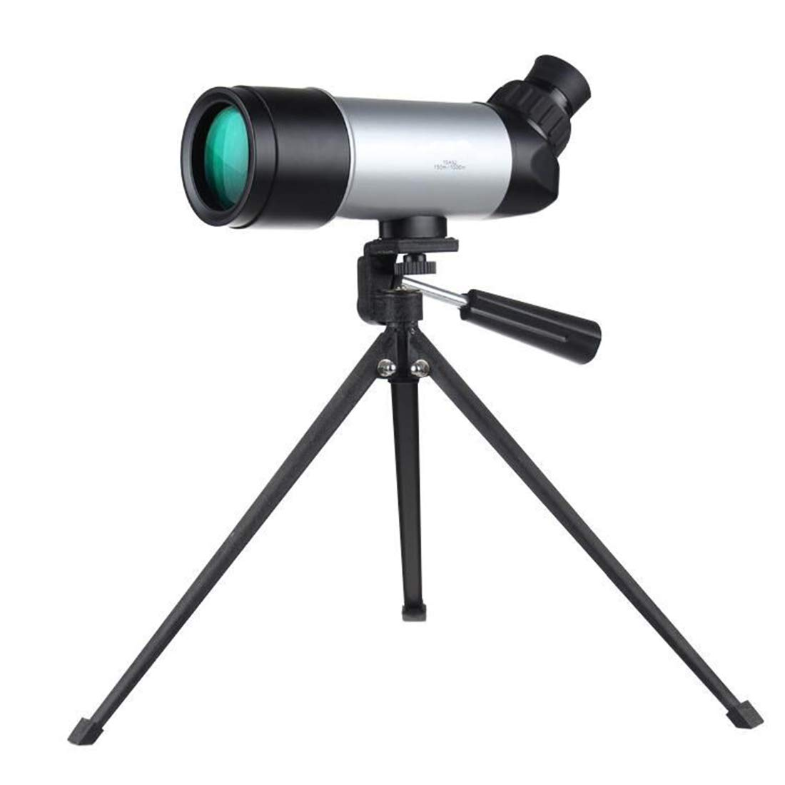 FELICIGG 15x52 Monocular Telescope for Bird Watching Camping,Equipped with Tripod,Wide-angle Objective Monocular for Adult Kids