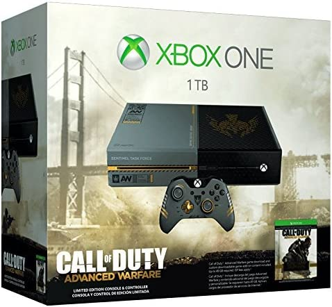 Xbox One Console Limited Edition Call of Duty: Advanced Warfare ...