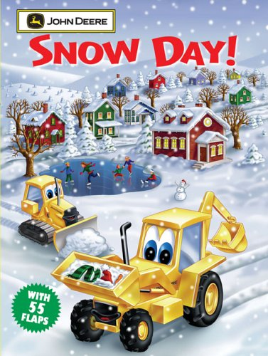 Snow Day: John Deere Giant Lift-the-Flap Book