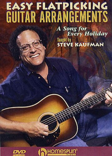 - DVD-Easy Flatpicking Guitar Arrangements-A Song for Every Holiday