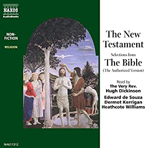 The New Testament (Unabridged Selections) Audiobook