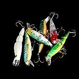 Chartsea Jointed Fishing Lure Bait Bass Crank Minnow Swimbait Life Like Pike NEW