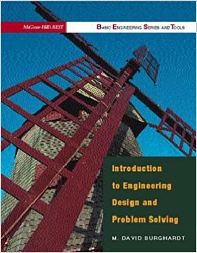 Introduction to Engineering Design & Problem Solving (B.E.S.T. Series)