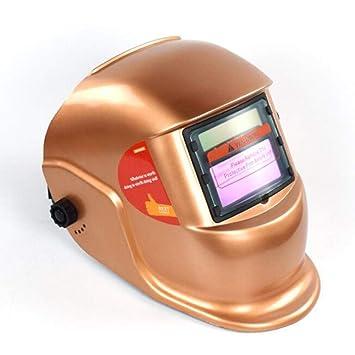 LAIABOR Careta Soldar Casco Soldadura Máscara Solar Oscurecimiento Automático Ajustable Cabeza Soldador Soldadura Máscara Protectora Protectora: Amazon.es: ...