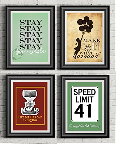 Dave Matthews Band Inspired | Collection Of Four Prints | 11x14 Posters