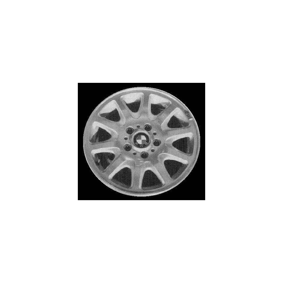 96 97 BMW 318IS 318 is ALLOY WHEEL RIM 16 INCH, Diameter 16, Width 7 (10 FLAT SPOKE), 46mm offset Style #25, SILVER, 1 Piece Only, Remanufactured (1996 96 1997 97) ALY59223U10