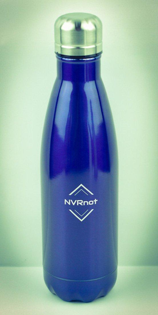 Nvrnot Vakuum Isolierte Edelstahl, doppelwandige Wasser Flasche Keep Hot halten Kälte 100% BPA-frei 17 Oz