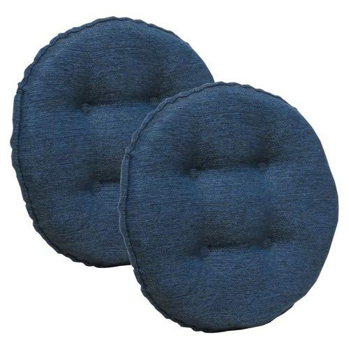 (Klear Vu Omega Barstool Cushion, 2 Pack, Indigo)