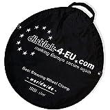 Aufbewahrungstasche für BS-Disklok Silber Lenkradkrallen mit Airbagsicherung
