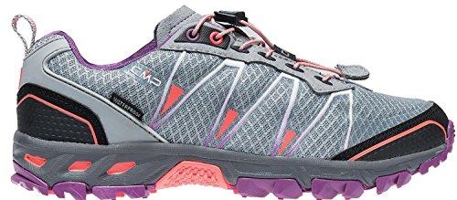 purple Chaussures Femme de Stone Fluo Gris red Trail 13be Atlas CMP w1zq66