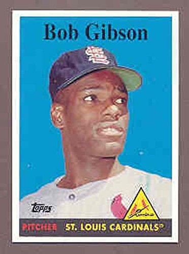 2008 Topps National Convention 1958 Retro Bob Gibson Card Kit Young Cards (Bob Gibson Memorabilia)