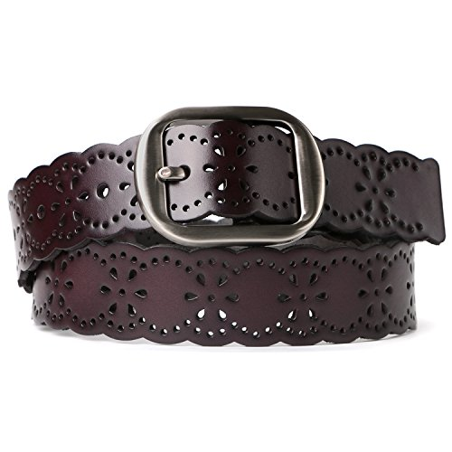 Cowgirl Belts for Women,SUOSDEY Womens Leather Belt for Jeans Dress