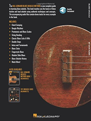 "/""HAL LEONARD BLUES UKULELE/"" W//ONLINE AUDIO MUSIC BOOK BRAND NEW ON SALE UKE!!"