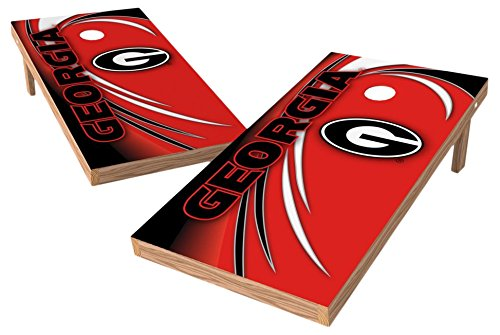 georgia bulldog corn hole - 9