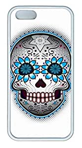 iPhone 6 Case, iCustomonline Day Of The Dead Sugar Skull Case for iPhone 6
