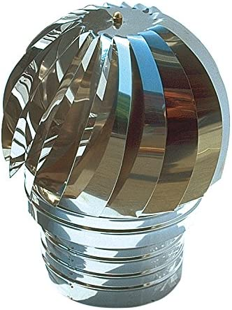 First Plast aspirador estática Inox Diam.100: Amazon.es: Bricolaje ...