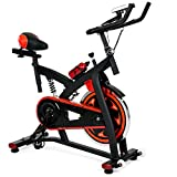 ditto machine - Best Choice Products Exercise Bike Health Fitness Indoor Cycling Bicycle Cardio Workout W/ LCD Screen