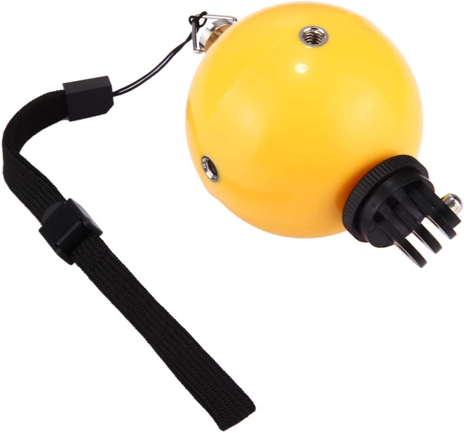 Bobber Diving Floaty Ball with Safety Wrist Strap for GoPro HERO6 //5//5 Session //4 Session //4//3 Xiaoyi and Other Action Cameras Durable //3//2 //1