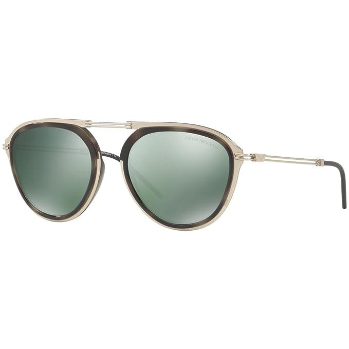 b0d9b81e4510 Image Unavailable. Emporio Armani EA 2056 PALE GOLD GREEN HAVANA GREEN men  Sunglasses