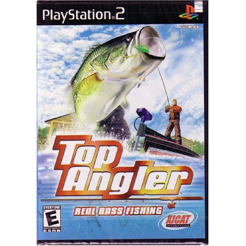 Top angler real bass fishing playstation 2 import it all for Ps3 fishing games