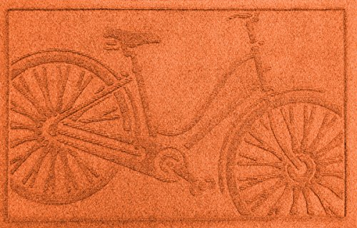 Waterguard Bicycle Mat, 2 by 3-Feet, Orange by Waterguard