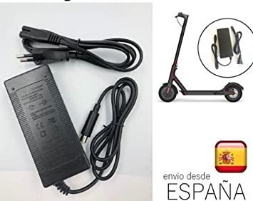 Cargador de batería compatible para patinete scooter Xiaomi Mijia M365 adaptador 42 V 2A para Xiaomi Mijia M365 battery charger. ANDROGEEK ofrece ...