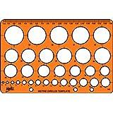 Helix H67010 - Plantilla de círculos (30 círculos)