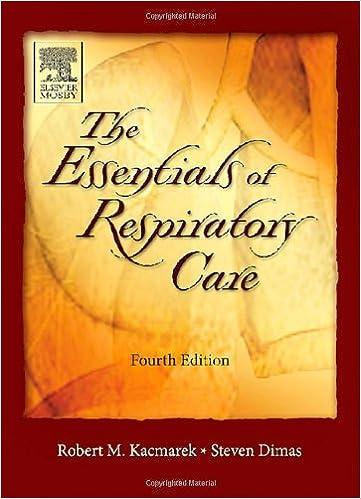Essentials of Respiratory Care: 9780323027007: Medicine & Health ...