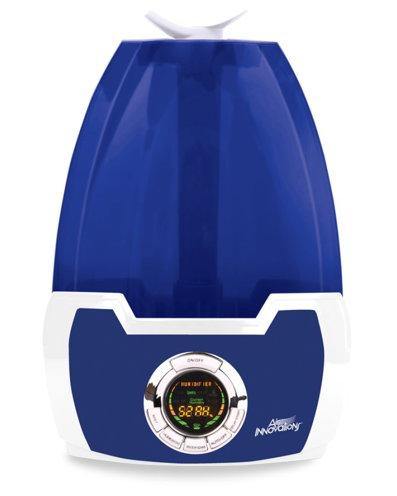 1.6 Gal. Cool Mist Digital Humidifier for Large Rooms – Up to 500 sq. ft.- Blue