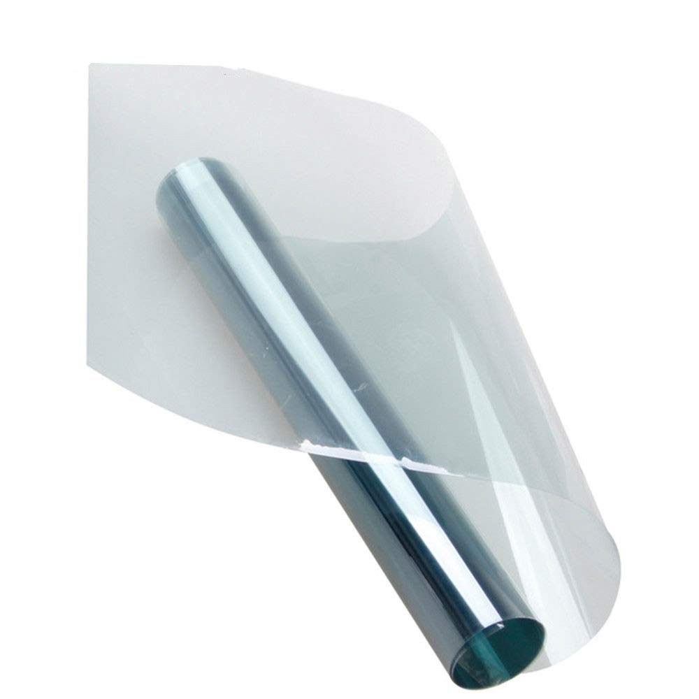 HOHO 152cmx1000cm 80% VLT 2mil High Heat-Rejection Solar Tint Film Tinting Vinyl Nano Ceramic Film for Car Windshield Rear Window Glass