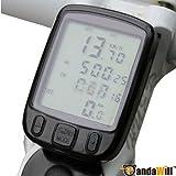 Pandawill 27 Functions Waterproof LCD Cycling Bike Bicycle Computer Odometer Speedometer