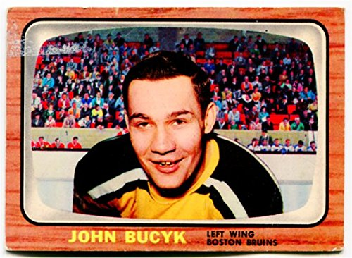 new concept 05e32 1214c Amazon.com : 1966/67 Topps Johnny Bucyk Card #39 Boston ...