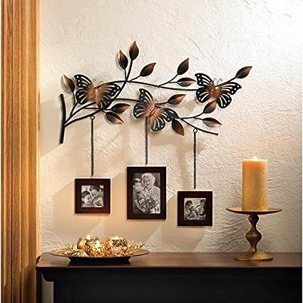 Amazon Com Frames Butterfly Frame Wall Decor Butterflies Hang 3