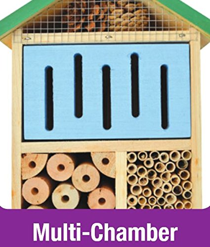 Nature's Way Bird Products CWH7 Better Gardens Beneficial Insect House, 4 Chamber by Nature's Way Bird Products (Image #4)