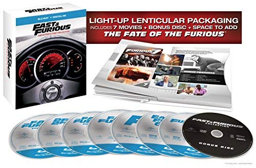 Fast & Furious: The Ultimate Ride Collection [Blu-ray] 1-7 (Fast And Furious 1 7 In Order)
