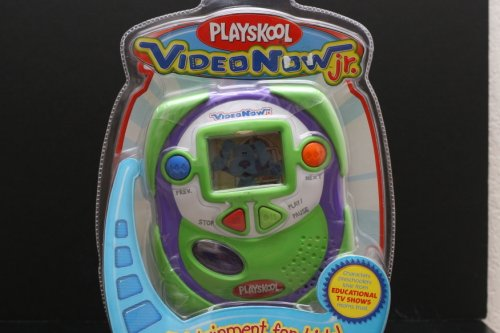 Videonow Jr Green and Purple Color Personal Video Player