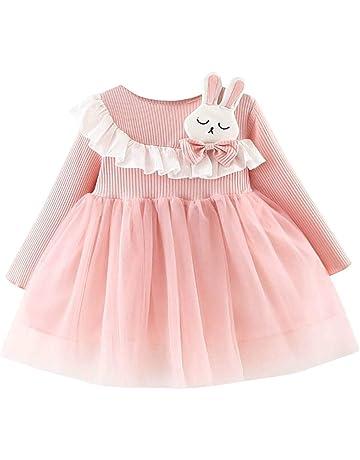 Pr/énatal Baby M/ädchen Kleid mit R/üschen